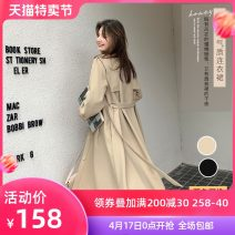 Dress Autumn 2020 Black light Khaki XS S M L XL Mid length dress Two piece set Long sleeves street other High waist other A-line skirt routine 18-24 years old Small like MQ031113-473715 71% (inclusive) - 80% (inclusive) polyester fiber Pure e-commerce (online only) Europe and America