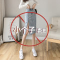skirt Spring 2021 XS,S,M,L,XL Picture color Mid length dress Versatile High waist Denim skirt other Type H 18-24 years old More than 95% Denim Jie Huiting