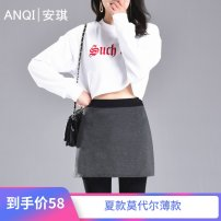 Leggings Autumn 2020 Small (70kg-100kg), medium (100kg-120kg), large (120kg-140kg), extra large (140kg-160kg) Thin money trousers No.72 18-24 years old Angel women's wear pure cotton 81% (inclusive) - 90% (inclusive)