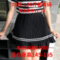 skirt Summer 2021 Xs, one size fits 145-155 White, black Short skirt commute High waist Pleated skirt other Type A 18-24 years old More than 95% other Zhenyaluo other Korean version