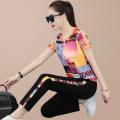 Fashion suit Summer 2021 M L XL XXL 3XL 4XL Orange purple blue 25-35 years old Xia Dian Pure e-commerce (online only)