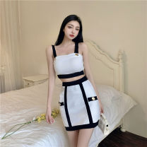 Fashion suit Summer 2021 Average size White, black 18-25 years old A0411
