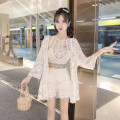 Fashion suit Spring 2021 Average size Single vest, single coat, shorts, three piece suit 18-25 years old Other / other Seven point two