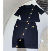 Fashion suit Spring 2021 S,M,L black 25-35 years old 31% (inclusive) - 50% (inclusive) nylon