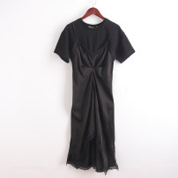 Dress Autumn of 2019 black S,M,L