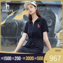 Dress Spring 2021 Navy light grey 155/80A 160/84A 165/88A 170/92A Mid length dress Long sleeves commute middle-waisted Solid color 25-29 years old Hazzys Britain AQWSE01BX01 91% (inclusive) - 95% (inclusive) cotton Cotton 94.1% polyurethane elastic fiber (spandex) 5.9%