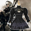 Cosplay women's wear suit goods in stock Over 14 years old 2B sister clothes, suits, wigs, shoes, wooden sword, metal sword comic L,M,S,XL,XXL The regiment commands the army Chinese Mainland Romantic, Gothic, fan, otaku Neil machinery Cos clothing