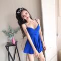 Dress Autumn 2020 Black, blue, red L,S,M Short skirt singleton  Sleeveless commute High waist Socket 18-24 years old Type H Retro a1029 31% (inclusive) - 50% (inclusive)