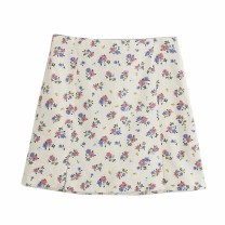 skirt Spring 2021 XS,S,M,L As shown in the figure Short skirt street High waist 18-24 years old Europe and America