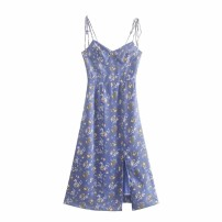 Dress Spring 2021 As shown in the figure S,M,L Mid length dress singleton  street camisole 18-24 years old Europe and America