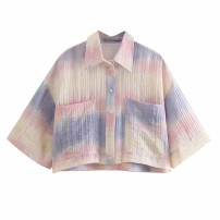 shirt As shown in the figure XS,S,M,L Spring 2021 other 81% (inclusive) - 90% (inclusive) street 18-24 years old Straight cylinder Europe and America
