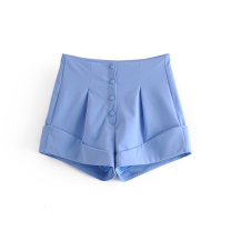 Casual pants As shown in the figure S,M,L Autumn 2020 shorts High waist street routine 18-24 years old Europe and America