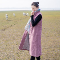 jacket Spring 2020 M (recommended waist 1.8-2.2), l (recommended waist 2.3-2.5) Light purple, purplish red, dark green Yu Xiang cotton 51% (inclusive) - 70% (inclusive)