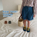 trousers UTOUTO female 80cm, 90cm, 110cm, 120cm, 130cm, 140cm, 100cm (model try on) Latte, grey dark green, elegant blue spring and autumn shorts leisure time There are models in the real shooting Casual pants other Chinese Mainland