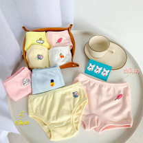 underpants other Other / other 80cm, 100cm, 110cm, 120cm, 130cm, 140cm, 90cm (model size) Cotton 95% polyurethane elastic fiber (spandex) 5% summer female 2 years old, 3 years old, 4 years old, 5 years old, 6 years old, 7 years old, 8 years old