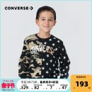 Sweater / sweater Converse / converse Positive black male 105cm 110cm 120cm 130cm 140cm 150cm 160cm 165cm spring and autumn Other 100% Spring 2021