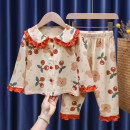 Home suit Tagkita / she and others 80, 90, 100, 110, 120, 130 Pink, beige, 889 pink, 872 white, 872 yellow, 923 blue, 923 red, 871 orange, 871 yellow spring and autumn female Cotton 95% other 5% Keep warm, antistatic, moisture absorption and perspiration at home cotton FHW369