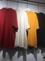 T-shirt Average size Spring of 2018 Short sleeve Crew neck easy Regular routine commute cotton 86% (inclusive) -95% (inclusive) 18-24 years old Simplicity