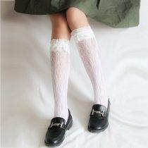 Socks / base socks / silk socks / leg socks female Other / other Average size Pink white black skin grey 450 pairs Thin money Middle cylinder Four seasons Sweet Plants and flowers nylon