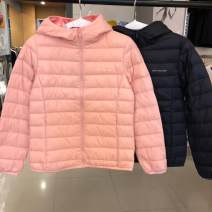 Sports down jacket Guirenniao For men and women XS (adult), s (adult), m (adult), l (adult), XL (adult), XXL (adult), XXL (adult) have cash less than that is registered in the accounts Duck down 90% Below 100g Autumn of 2018 Hood zipper