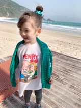 T-shirt White, pink EYAE KIDS 90cm,100cm,110cm,120cm,130cm,140cm,150cm female spring and autumn Long sleeves Crew neck Korean version There are models in the real shooting nothing cotton Cartoon animation Cotton 95% other 5% T21109 Class B Three, four, five, six, seven, eight Chinese Mainland
