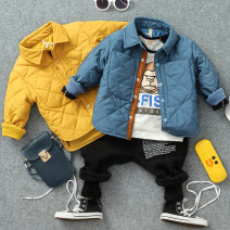Cotton padded jacket male nothing other Other / other The recommended height is about 90 for Size 90, 100 for size 100, 110 for Size 110, 120 for Size 120, 130 for Size 130 and 140 for size 140 routine Single breasted leisure time No model other other Class B Lapel Chinese Mainland