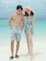 Couple swimsuit Ysswim / Yu langshu M,L,XL,XXL,XXXL,4XL Men's, women's 167301 lovers other currency
