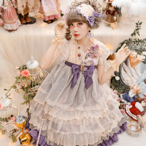 Lolita / soft girl / dress Baby Ponytail Unlimited season, spring, spring and autumn Pre sale Lolita, classic Pure white S