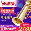 Saxophone currency B (or C) down treble brass Lacquer gold 3001-10000 yuan Midway / Medway 85g treble Professional performance Treble 85g Yes