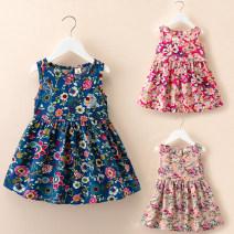 Dress female Thepigbaby 90cm.,100cm.,110cm.,120cm.,130cm. Other 100% summer princess Skirt / vest other cotton A-line skirt Class B 18 months, 2 years old, 3 years old, 4 years old, 5 years old, 6 years old, 7 years old
