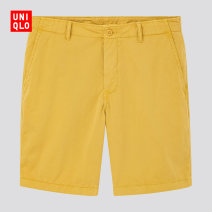 Casual pants UNIQLO / UNIQLO other 12 peach 35 light brown 44 bright yellow 54 green 63 sky blue 66 blue 160/64A/XS 165/72A/S 170/80A/M 175/88A/L 180/96B/XL 185/104C/XXL 185/112C/XXXL 185/120C/XXXXL Shorts (up to knee) Other leisure Straight cylinder UQ425143666 summer 2020 Cotton 100% Summer 2020