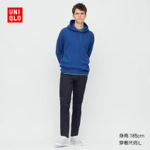 Casual pants UNIQLO / UNIQLO other 09 black 69 Navy 160/64A/XS 165/72A/S 170/80A/M 175/88A/L 180/96B/XL 185/104C/XXL 185/112C/XXXL 185/120C/XXXXL trousers Other leisure Tight fitting UQ422368000 spring 2020 Cotton 97% polyurethane elastic fiber (spandex) 3% Spring 2020