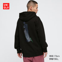 Sweater other UNIQLO / UNIQLO 09 black 160/76A/XS 165/84A/S 170/92A/M 175/100A/L 180/108B/XL 185/112C/XXL 185/120C/XXXL 185/128C/XXXXL other Socket spring UQ437648000 Cotton 100% Spring 2021 Same model in shopping mall (sold online and offline)