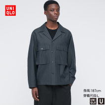 Jacket UNIQLO / UNIQLO other 09 black 35 light brown 68 dark blue 160/76A/XS 165/84A/S 170/92A/M 175/100A/L 180/108B/XL 185/112C/XXL standard Other leisure UQ435276000 Cotton 100% Spring 2021 Same model in shopping mall (sold online and offline)