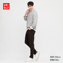 Jeans other UNIQLO / UNIQLO 160/64A/XS 165/72A/S 170/80A/M 175/88A/L 180/96B/XL 185/104C/XXL 185/112C/XXXL 185/120C/XXXXL 09 black UQ422362000 trousers Cotton 87% polyester 11% polyurethane elastic 2% spring 2020 Spring 2020 Same model in shopping mall (sold online and offline)