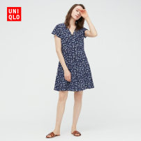 Dress Summer 2021 22 pink orange 69 Navy 150/76A/XS 155/80A/S 160/84A/M 160/88A/L 165/92A/XL 170/100B/XXL Mid length dress 25-29 years old UNIQLO / UNIQLO UQ438721000 More than 95% other Viscose (viscose) 100% Same model in shopping mall (sold online and offline)