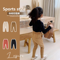 trousers Amybaby female 80cm, 90cm, 110cm, 120cm, 130cm, 150cm, 100cm (Baoer photo code), 140cm (Amy life code) Milk camel, classic black, rice apricot, brick red spring and autumn trousers Simplicity There are models in the real shooting Casual pants Leather belt High waist cotton Open crotch other