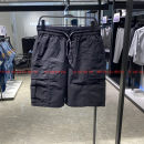 Casual pants Jiang Taiping and niaoxiang Youth fashion black S,M,L,XL,2XL routine Shorts (up to knee) motion easy Micro bomb B2GCB2377 summer youth tide 2021 middle-waisted Straight cylinder Overalls Pocket decoration washing other other cotton cotton 70% (inclusive) - 79% (inclusive)