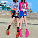 skirt Summer 2021 160/68A/S 165/72A/M 170/76A/L Midnight Black Sea Blue Short skirt Natural waist Irregular 25-29 years old TBC26 71% (inclusive) - 80% (inclusive) Ccqueen cotton Cotton 80% polyester 20%
