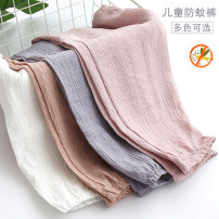 trousers female summer Ninth pants There are models in the real shooting Harlem Pants / knickerbockers Leather belt middle-waisted blending Don't open the crotch Viscose (viscose) 80.7% polyamide (nylon) 19.3% Summer of 2019