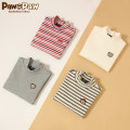 T-shirt paw in paw 105 110 120 130 140 150 female spring and autumn Long sleeves leisure time Cotton 96.7% polyurethane elastic fiber (spandex) 3.3% Class B Autumn of 2019 Four, five, six, seven, eight, nine, ten, eleven, twelve Chinese Mainland
