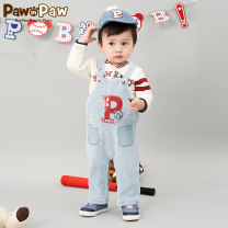 trousers paw in paw male 73cm 80cm 90cm 100cm 110cm Blue / 50 summer Cartoon other Don't open the crotch Other 100% Class A Autumn 2020 3 months 12 months 6 months 9 months 18 months 2 years 3 years old