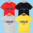 T-shirt White, gray, black, red, yellow, pink Other / other 90cm,100cm,110cm,120cm,130cm,140cm,150cm,160cm male summer Short sleeve Crew neck leisure time No model nothing cotton Cartoon animation Cotton 95% polyurethane elastic fiber (spandex) 5% Solid short sleeve T-shirt coco Class A Qingdao