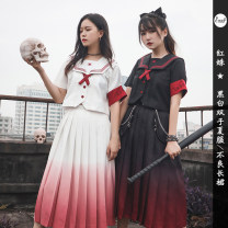 student uniforms Summer 2020 Red spider [black] short sleeve top in stock, black fox Fairy (70cm long skirt) in stock, red spider [white] short sleeve top in stock, red spider [white] 70cm long skirt in stock, white fox Fairy (70cm long skirt) in stock S,M,L,XL Short sleeve skirt