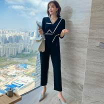 Outdoor casual suit Tagkita / she and others female 51-100 yuan one hundred and fifty-five . eighty-five M [recommendation 80] - 110 kg] , L [recommendation 110] - 125 kg] , XL [recommendation 125] - 135 kg] , 2XL [recommendation 135] - 145 kg] Black, collection plus purchase priority delivery