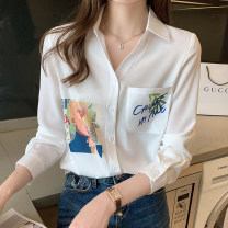 Lace / Chiffon Spring 2021 Picture color S. M, l, XL, 2XL, the quantity is limited to 45 yuan, the promotion is about to return to the original price of 65 yuan