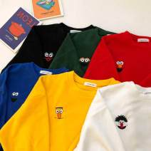 Sweater / sweater Winter 2018 Long sleeve Condom routine singleton  Crew neck commute 18-24 years old 96% and above Other / other Korean version polyester fiber polyester fiber Red, green, blue, yellow One size fits all
