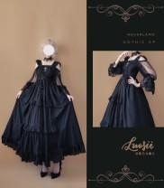 Lolita / soft girl / dress soufflesong Short sleeve version, long sleeve version L,M,S