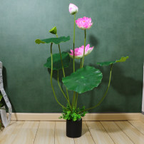 Artificial flower EVA flowers and plants Ground flowers Crystal tube on the base 9 forks short white 9 forks short pink 9 forks short purple 6 forks long white 6 forks long pink 8 forks long white 8 forks long pink 8 forks long purple Lotus