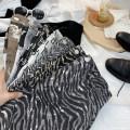 skirt Spring 2021 S,M,L,XL White letters, carbon black letters, zebra gray, zebra khaki, herringbone fine grain black, ink gray, ink khaki Short skirt commute High waist A-line skirt Type A 18-24 years old 71% (inclusive) - 80% (inclusive) other other Korean version